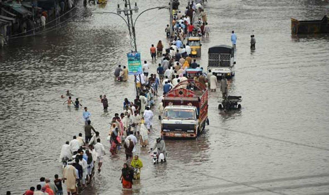 Πνίγηκε το Πακιστάν: Τουλάχιστον 28 νεκροί από κατακλυσμιαίες βροχές - Δεκάδες εγκλωβισμένοι σε ορυχείο - Κυρίως Φωτογραφία - Gallery - Video