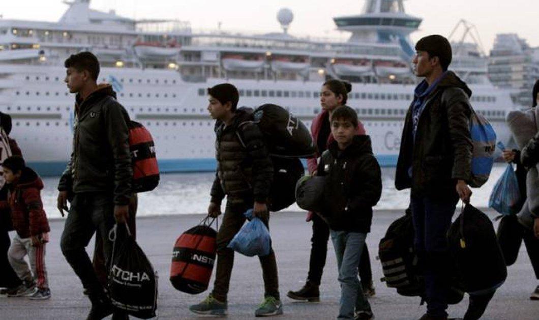 Ξεκίνησε προσπάθεια αποσυμφόρησης του Πειραιά μετά τα χθεσινά επεισόδια - Οι πρόσφυγες μεταφέρονται στην Κυλλήνη - Κυρίως Φωτογραφία - Gallery - Video