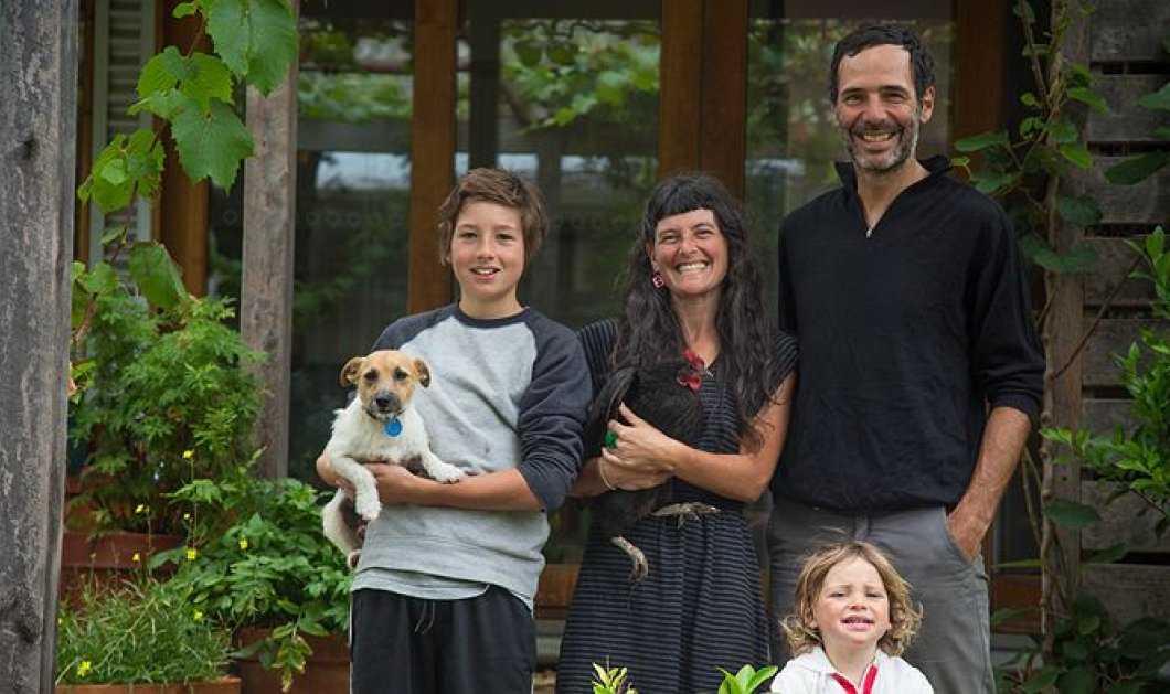 Ζευγάρι πήγε τα παιδιά του & το σκύλο 14 μήνες διακοπές μόνο με ποδήλατο - Κυρίως Φωτογραφία - Gallery - Video