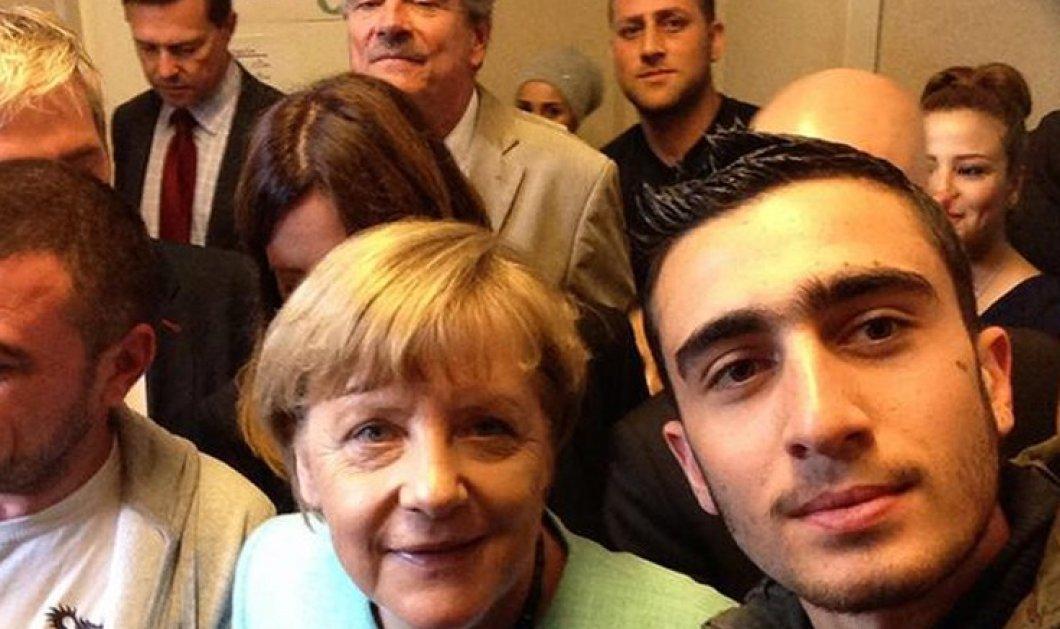 Απίθανο story: Σύρος πρόσφυγας έγινε... σταρ χάρη σε μια selfie με την Άνγκελα Μέρκελ - Κυρίως Φωτογραφία - Gallery - Video