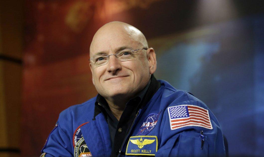 Καταπληκτικό! Ψηλότερος 5 εκατοστά γύρισε από το διάστημα ο Αμερικανός αστροναύτης   - Κυρίως Φωτογραφία - Gallery - Video