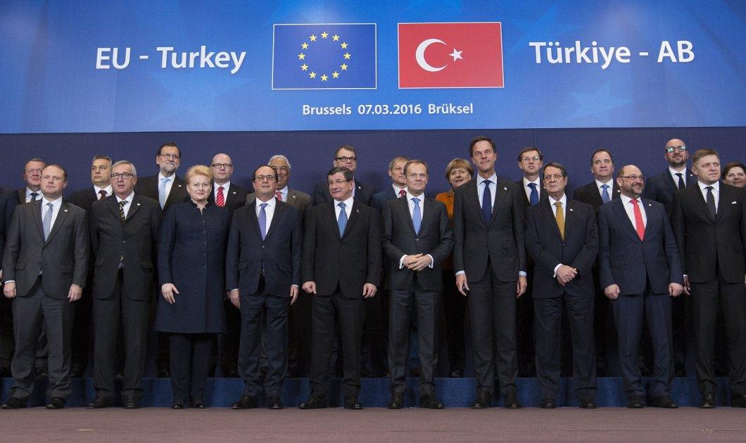 Σύνοδος Κορυφής: Τα αγκάθια & τα κενά που φρενάρουν την συμφωνία Ε.Ε - Τουρκίας - Κυρίως Φωτογραφία - Gallery - Video