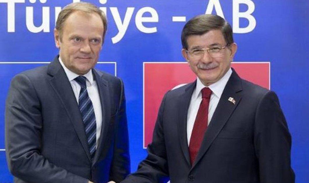 Αυτό είναι το τελευταίο προσχέδιο συμφωνίας ΕΕ-Τουρκίας -Τα 4 σημεία  - Κυρίως Φωτογραφία - Gallery - Video