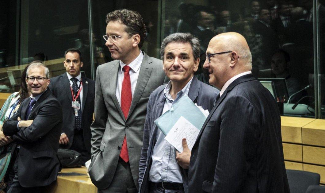 Επιβεβαίωσε την επιστροφή θεσμών & ΔΝΤ ο Τσακαλώτος: Όλα όσα είπε κατά την έξοδο του από το Eurogroup - Κυρίως Φωτογραφία - Gallery - Video