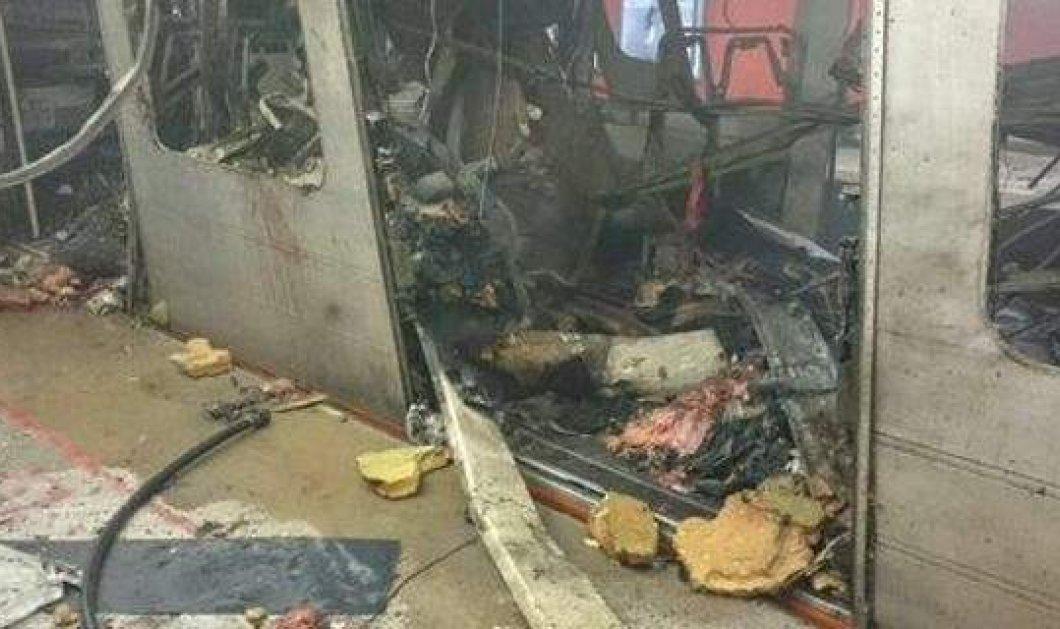 Πανικός στις Βρυξέλλες: Τα συγκλονιστικά βίντεο με τις δύο εκρήξεις στο σταθμό του μετρό - Κυρίως Φωτογραφία - Gallery - Video