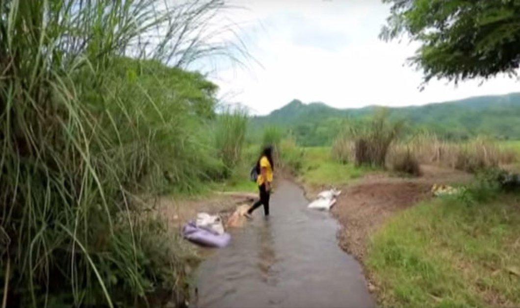 Τop Woman η Φιλιππινέζα δασκάλα Elizabeth: Περπατά καθημερινά 2 ώρες & διασχίζει 5 ποτάμια για να διδάξει στους μαθητές της - Κυρίως Φωτογραφία - Gallery - Video