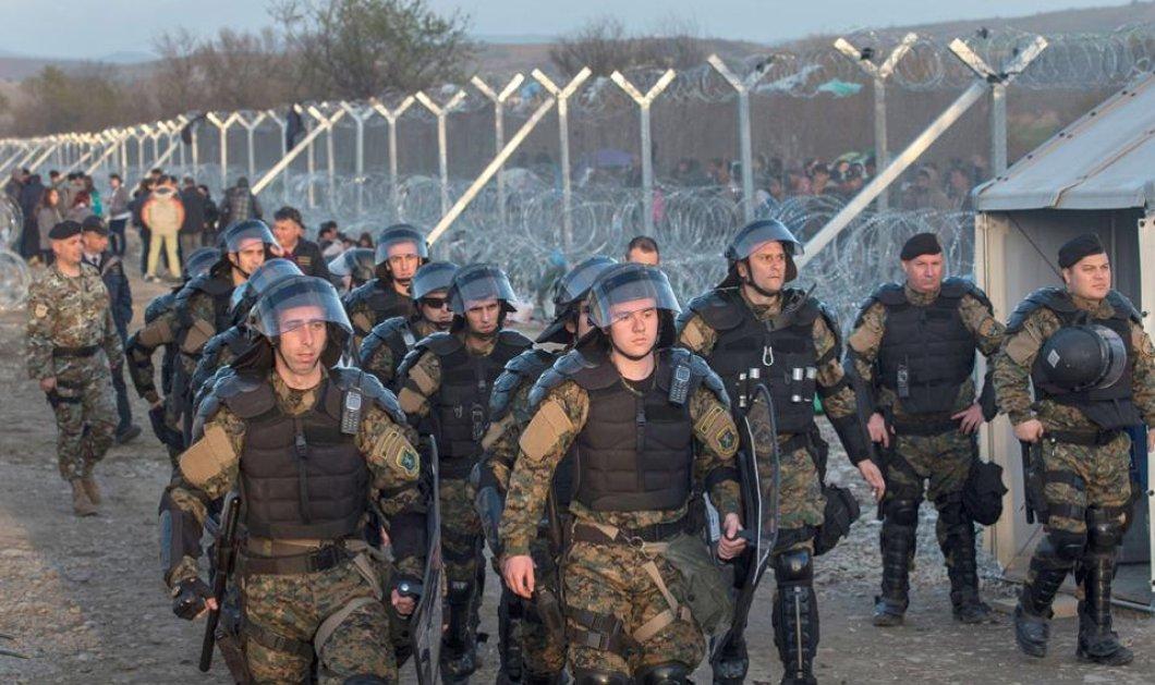 Οι Σκοπιανοί αστυνομικοί πέρασαν μπροστά από τον φράχτη και επιτέθηκαν - Τι απαντά το Υπουργείο Εθνικής Άμυνας - Κυρίως Φωτογραφία - Gallery - Video