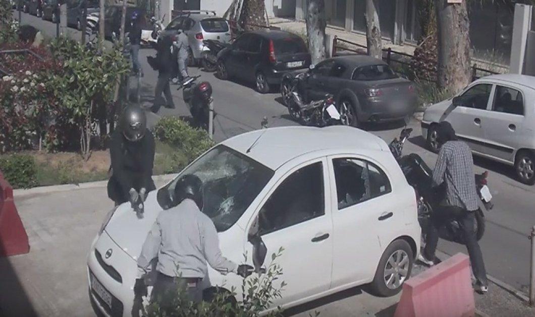 Συνελήφθησαν δύο άτομα για την επίθεση στα γραφεία της εφημερίδας «Πρώτο Θέμα» - Κυρίως Φωτογραφία - Gallery - Video
