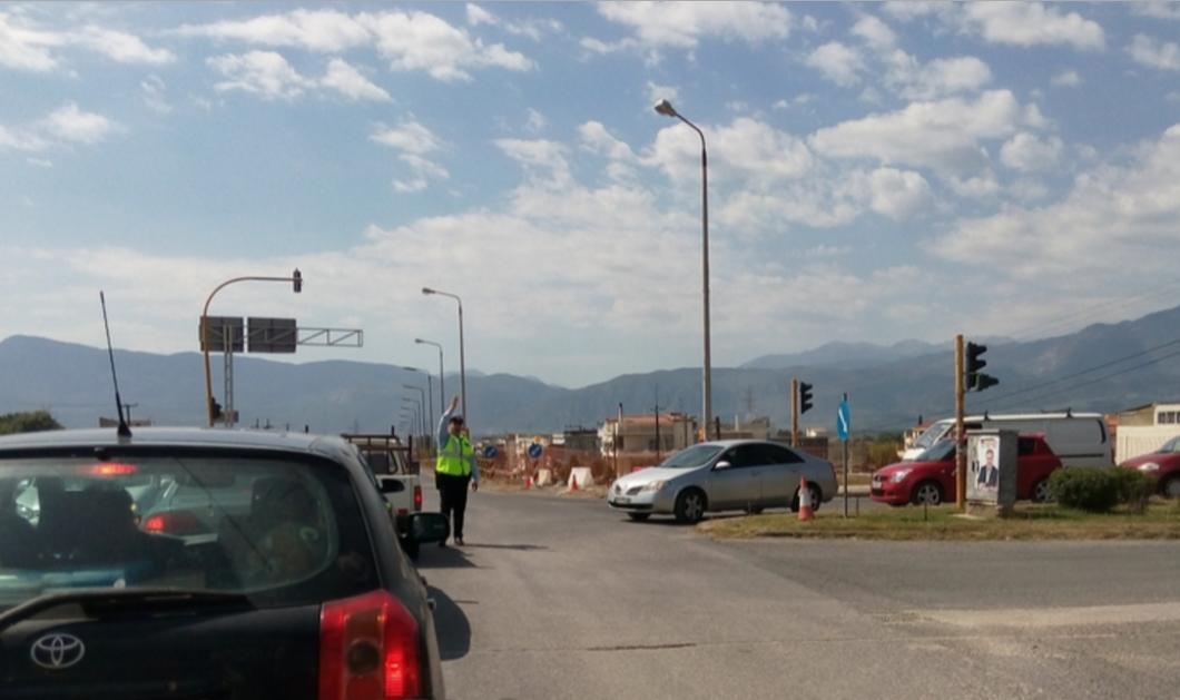 Αυξημένη η κίνηση στην εθνική οδό Αθηνών Λαμίας: Ουρές στην είσοδο - Φώτο & video - Κυρίως Φωτογραφία - Gallery - Video