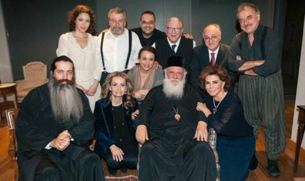 Ο Αρχιεπίσκοπος Αθηνών κ. Ιερώνυμος παρακολούθησε την μοναδική παράσταση «Σμύρνη μου αγαπημένη» - Κυρίως Φωτογραφία - Gallery - Video