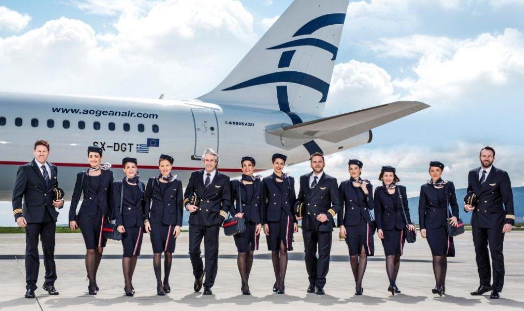 Απεργία: Ποιές πτήσεις της Aegean και της Olympic Air ακυρώνονται  - Κυρίως Φωτογραφία - Gallery - Video
