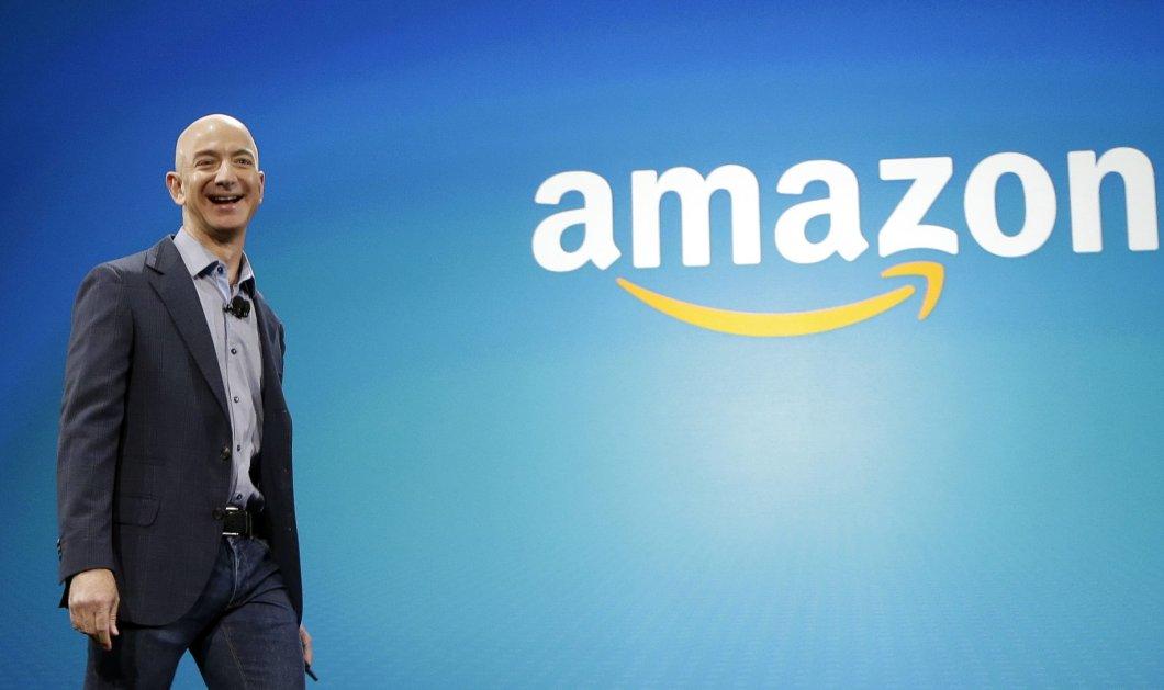 Ρεκόρ! Ο Τζεφ Μπέζος CEO της Amazon έβγαλε 6 δισ. δολάρια σε 20 λεπτά - Οι μετοχές γαρ εκτοξεύτηκαν - Κυρίως Φωτογραφία - Gallery - Video