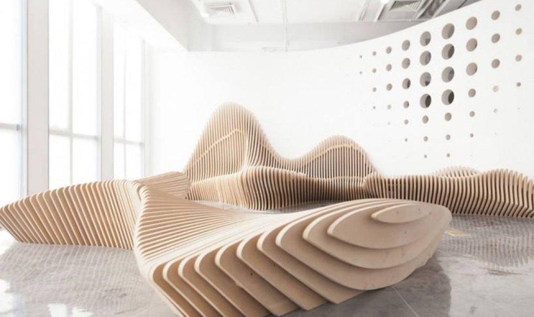 Το design για εναλλακτική διακόσμηση κάνει πάρτι: Απίθανες ξύλινες καρέκλες και καθίσματα - Κυρίως Φωτογραφία - Gallery - Video