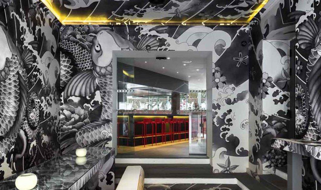 Αυτό το εστιατόριο μόλις έγινε το No 1 με το design & τα Γιαπωνέζικα τατού του στους τοίχους (Φωτό) - Κυρίως Φωτογραφία - Gallery - Video