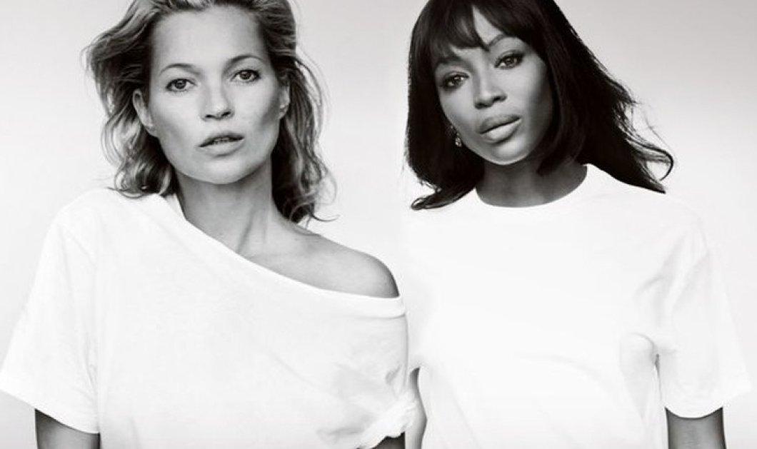Οι θεές της πασαρέλας Kate Moss & Naomi Campbell ποζάρουν για τον καρκίνο του μαστού - Σαν να μην πέρασε μια μέρα - Κυρίως Φωτογραφία - Gallery - Video