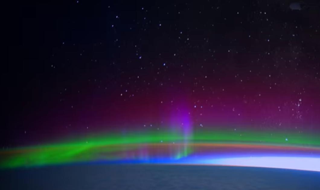 Ένα μοναδικό βίντεο από την NASA: Δείτε το Βόρειο Σέλας από το διάστημα με απίστευτη λεπτομέρεια - Κυρίως Φωτογραφία - Gallery - Video