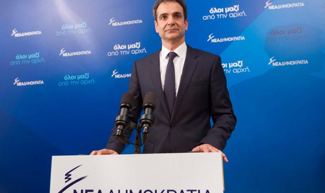 Κ. Μητσοτάκης: Να παραιτηθεί ο Τσίπρας - Η κυβέρνηση θλιβερός θίασος από επαγγελματίες ψεύτες  - Κυρίως Φωτογραφία - Gallery - Video