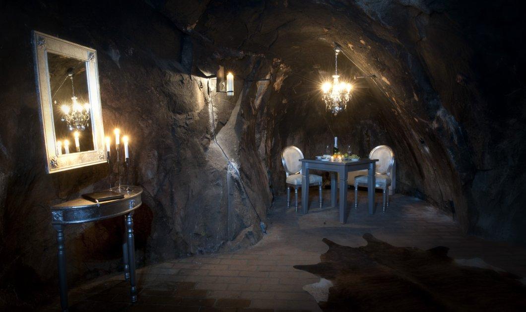 Αυτή η σουίτα βρίσκετε στα 155 μέτρα κάτω από την γη - Πρώην ορυχείο έγινε πολυτελές ξενοδοχείο  - Κυρίως Φωτογραφία - Gallery - Video