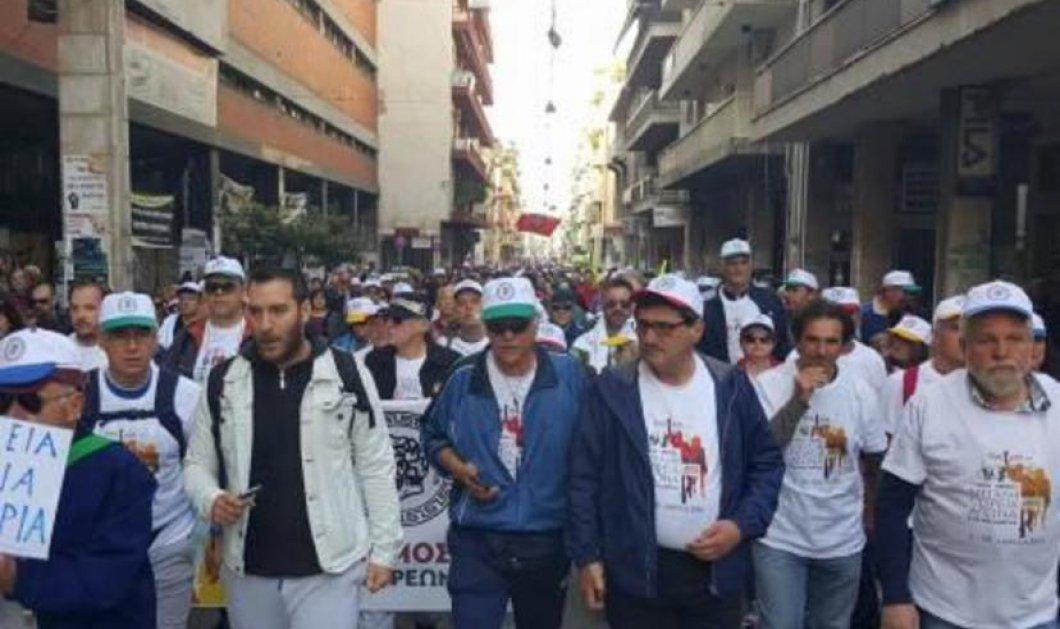 Πορεία ενάντια στην Ανεργία από την Πάτρα στην Αθήνα - Επικεφαλής ο Δήμαρχος Πατρέων και όλο το Δημοτικό Συμβούλιο! - Κυρίως Φωτογραφία - Gallery - Video