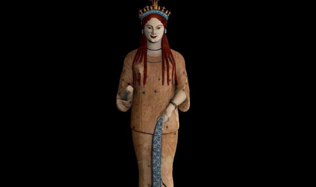 Μια αρχαία Κόρη από το Μουσείο της Ακρόπολης στο περίφημο Ερμιτάζ   - Κυρίως Φωτογραφία - Gallery - Video