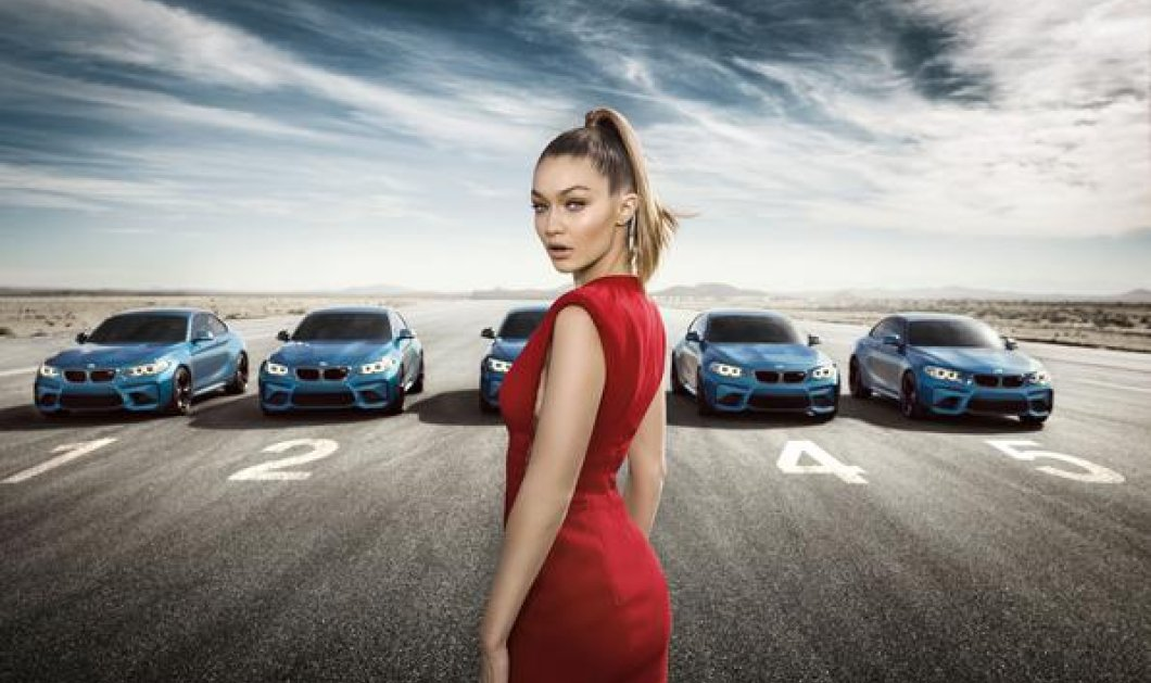 Όταν η θεά της πασαρέλας Gigi Hadid συνάντησε την θεά της ασφάλτου BMW Μ2 έγινε χαμός!   - Κυρίως Φωτογραφία - Gallery - Video