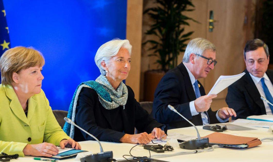 H κοινή επίσημη ανακοίνωση ΕΚΤ - ESM - ΔΝΤ & Κομισιόν για την αποχώρηση τους από την Αθήνα: Στον αέρα η συμφωνία - Κυρίως Φωτογραφία - Gallery - Video