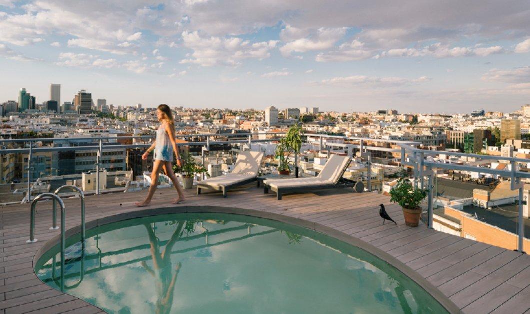 Σας ξεμυαλίζω: Roof garden με πισίνα & θέα 360 την Μαδρίτη από σούπερ διαμέρισμα - Κυρίως Φωτογραφία - Gallery - Video