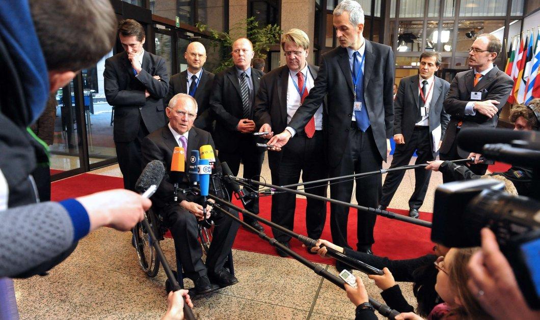 Αυστηρό μήνυμα Σόιμπλε: Υπάρχει μόνο μία λύση για την Ελλάδα - Αυτή που συμφωνήθηκε το καλοκαίρι - Κυρίως Φωτογραφία - Gallery - Video