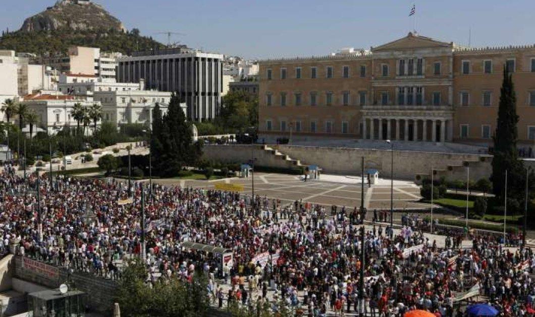 Απεργία: Ποιοι απεργούν σήμερα –Κινητοποιήσεις κατά της κυβέρνησης για το ασφαλιστικό - Κυρίως Φωτογραφία - Gallery - Video