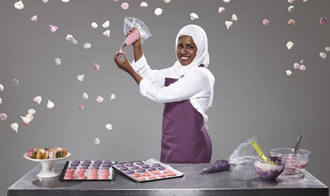 Top Woman η Νάντια Χουσείν: Φτιάχνει την τούρτα της Βασίλισας Ελισάβετ για τα 90 της χρόνια - Κυρίως Φωτογραφία - Gallery - Video
