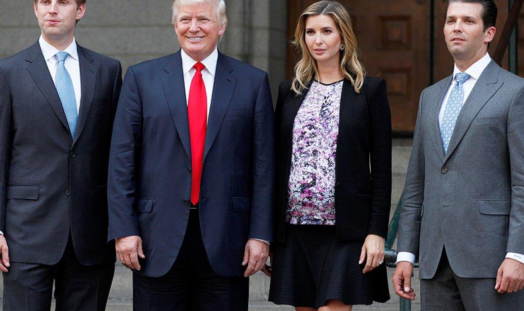 Γιατί δεν θα ψηφίσουν τον Ντόναλντ Τραμπ τα δύο μεγάλα παιδιά του Ιβάνκα & Έρικ; - Κυρίως Φωτογραφία - Gallery - Video