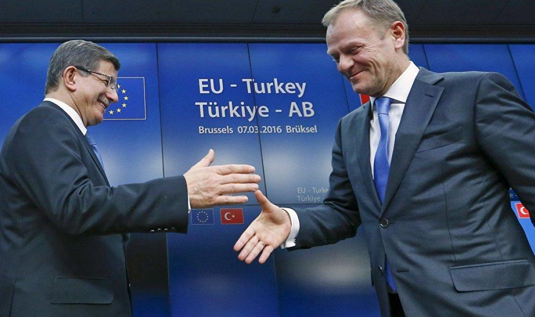 Nταβούτογλου: Αποδίδει η συμφωνία Τουρκίας - Ε. Ε - Μειώθηκαν οι προσφυγικές ροές - Κυρίως Φωτογραφία - Gallery - Video