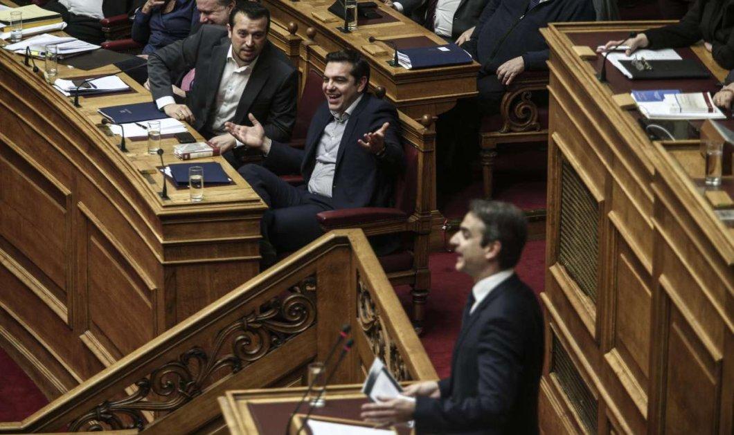 Μάχη στη Βουλή & στις δευτερολογίες Τσίπρα - Μητσοτάκη: Οι διάλογοι ''φωτιά'' των πολιτικών αρχηγών - Κυρίως Φωτογραφία - Gallery - Video