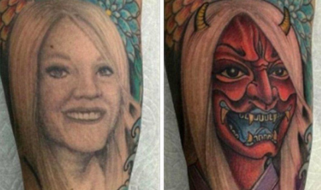 Το τατουάζ με τη γυναίκα του μεταμορφώθηκε σε διάβολο όταν χώρισαν- Δείτε την φώτο  - Κυρίως Φωτογραφία - Gallery - Video