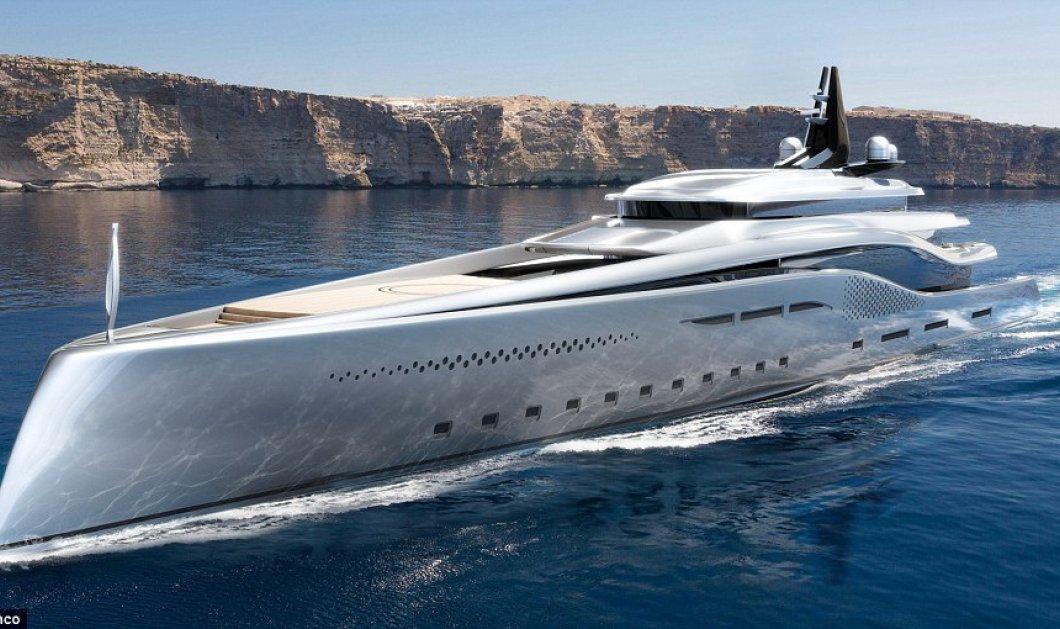 Stiletto: To Yacht που ήρθε από... άλλο πλανήτη - Με καταρράκτη και 18 υπνοδωμάτια - Κυρίως Φωτογραφία - Gallery - Video