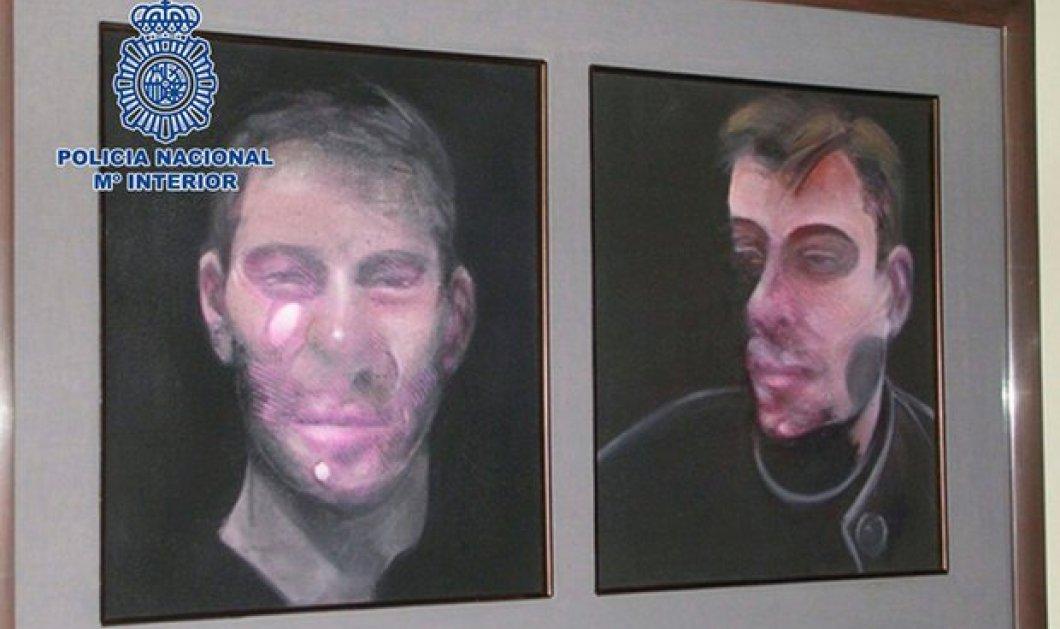 Ισπανία: Η αστυνομία συνέλαβε 7 ύποπτους για την κλοπή 5 πινάκων του Francis Bacon - Η αξία τους ξεπερνά τα 25 εκατ. ευρώ - Κυρίως Φωτογραφία - Gallery - Video