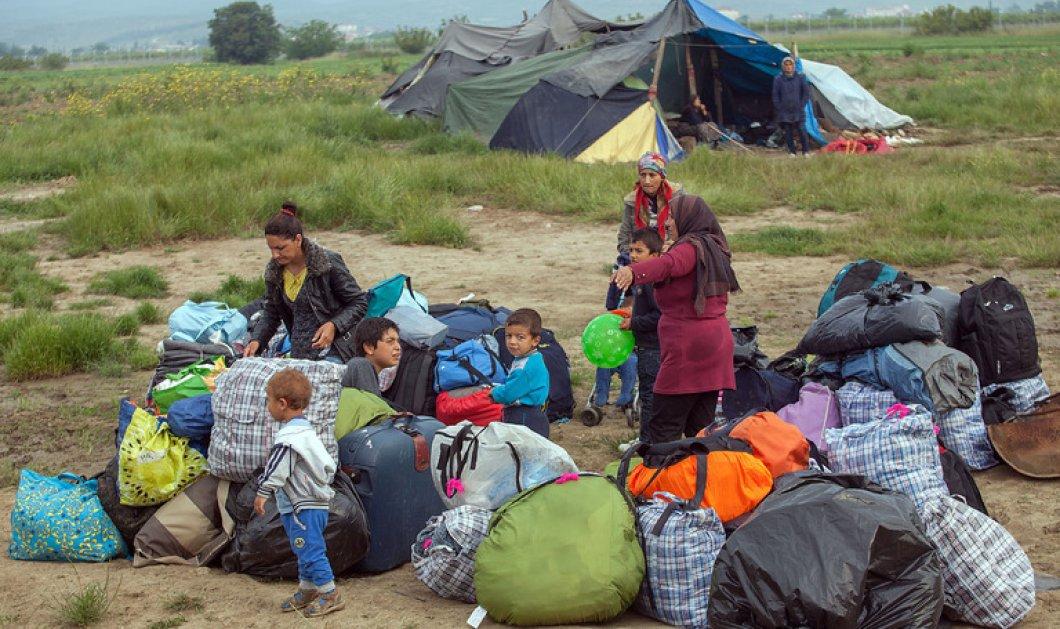 Δεύτερη ημέρα της εκκένωσης στον καταυλισμό της Ειδομένης -Πού μεταφέρουν τους πρόσφυγες    - Κυρίως Φωτογραφία - Gallery - Video