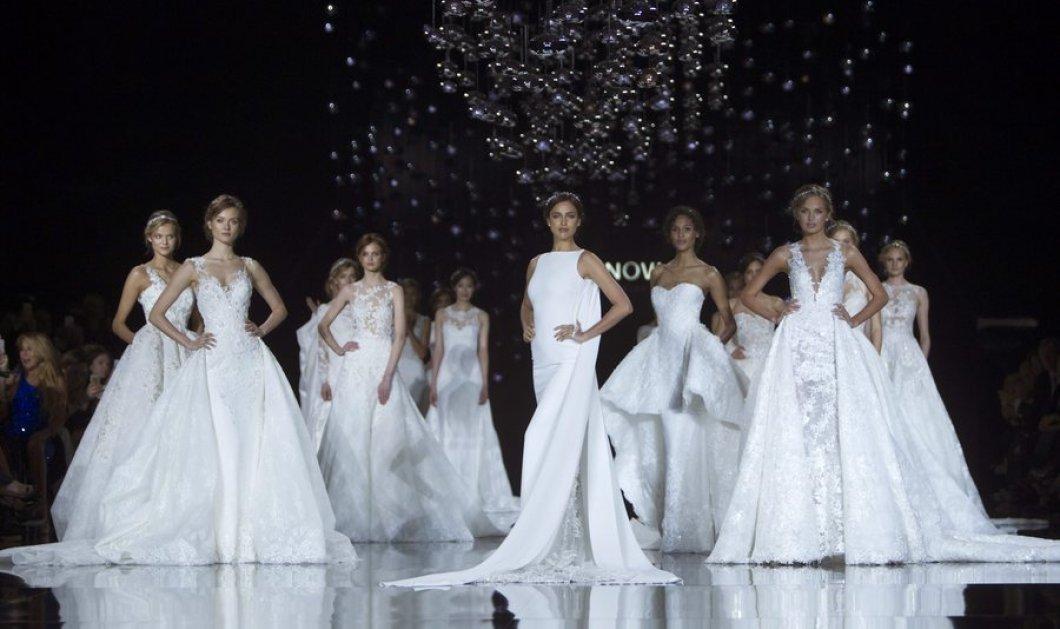 Ιρίνα Σάϊκ: Με το ωραιότερο νυφικό του κόσμου έκανε πρόβα γάμου   - Κυρίως Φωτογραφία - Gallery - Video