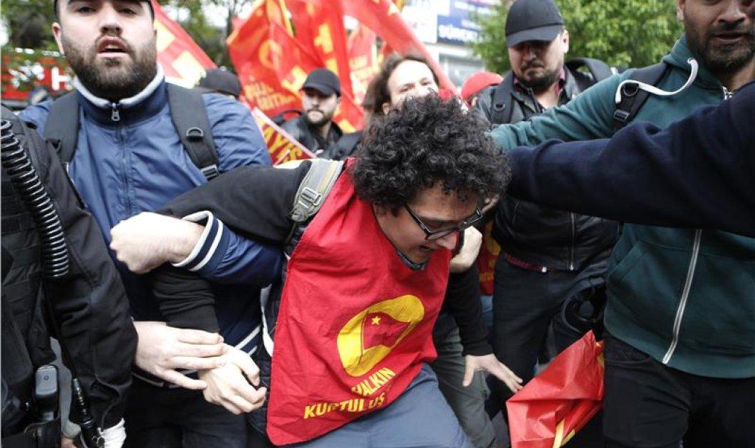"""""""Ματωμένη"""" για μια ακόμα χρονιά η Πρωτομαγιά στην Τουρκία - 1 νεκρός στην πλατεία Ταξίμ - Κυρίως Φωτογραφία - Gallery - Video"""