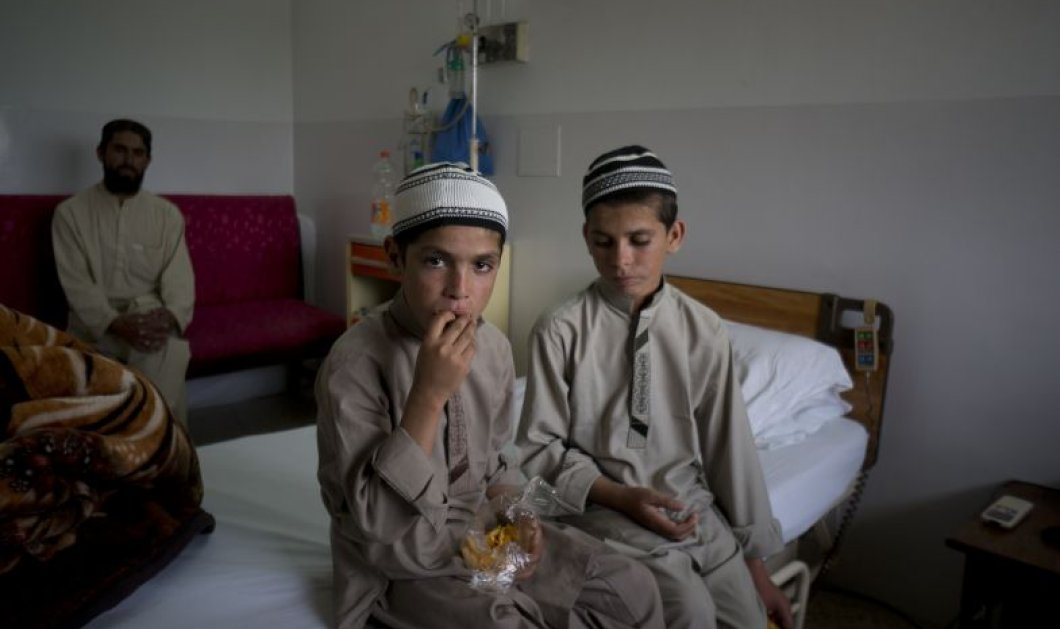 """Αυτά είναι τα """"Παιδιά του Ήλιου"""" - Η μυστηριώδης ιστορία δύο αδελφών που """"ζουν"""" μόνο την ημέρα! - Κυρίως Φωτογραφία - Gallery - Video"""