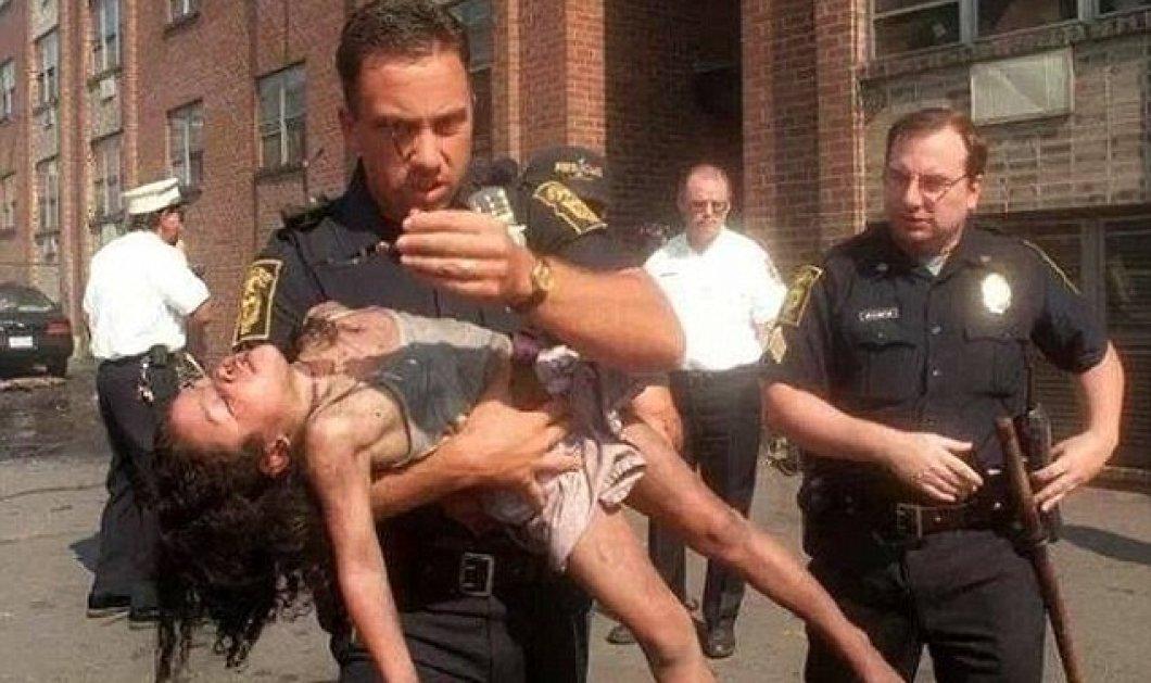 Story of the day: Την έσωσε από τις φλόγες μικρούλα - 20 χρόνια αργότερα πήγε στην αποφοίτηση της - Κυρίως Φωτογραφία - Gallery - Video