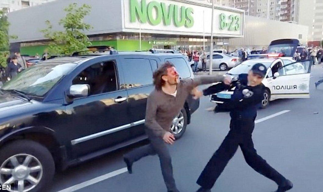 Ολυμπιονίκης παλαιστής εναντίον επτά αστυνομικών: Κατηγορείται ότι οδηγούσε μεθυσμένος  - Κυρίως Φωτογραφία - Gallery - Video
