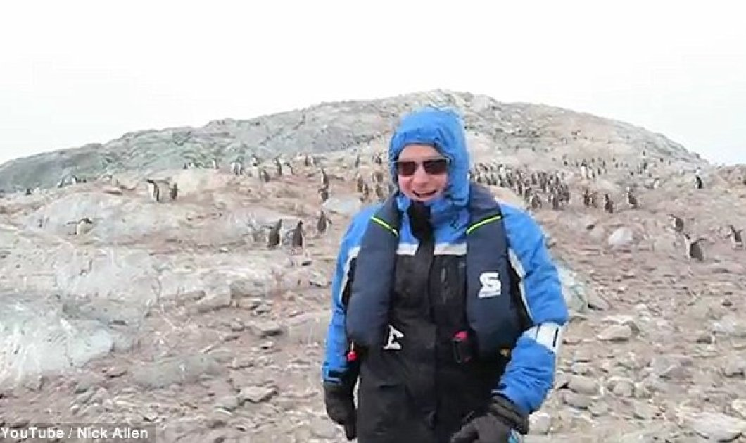 Απίστευτο: Ένας τενόρος τρελαίνει τους πιγκουίνους της Ανταρκτικής τραγουδώντας τους άριες! - Κυρίως Φωτογραφία - Gallery - Video