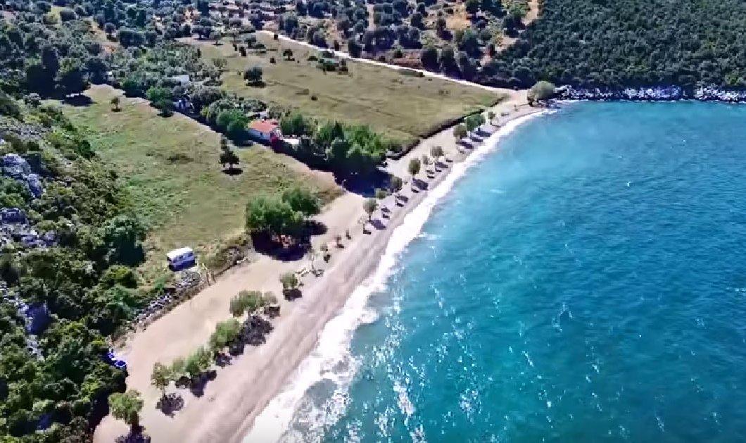Βίντεο: Απολαύστε μια εναέρια βόλτα πάνω από κρυφές παραλίες της Αττικής   - Κυρίως Φωτογραφία - Gallery - Video
