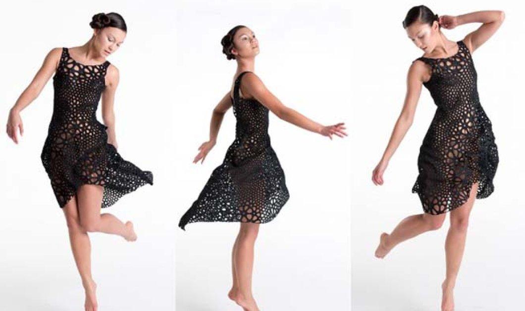"""Βίντεο με το φόρεμα που """"τρελαίνει"""": Χωρίς ραφές όλο 3D το φουστάνι του μέλλοντος τώρα!   - Κυρίως Φωτογραφία - Gallery - Video"""