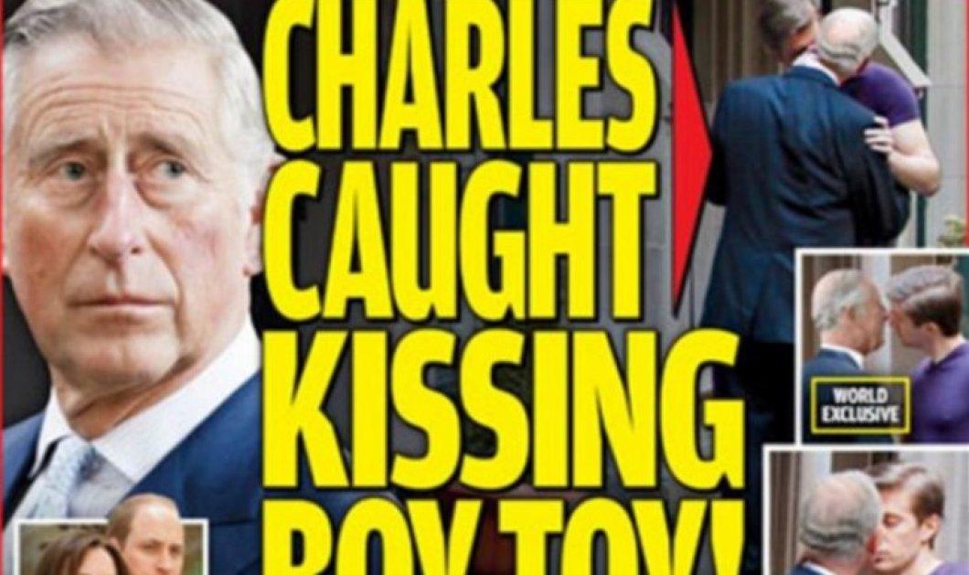 Γκέι σκάνδαλο με τον Πρίγκιπα Κάρολο: Φωτογραφίες να φιλιέται με άνδρα αναστάτωσαν το παλάτι   - Κυρίως Φωτογραφία - Gallery - Video