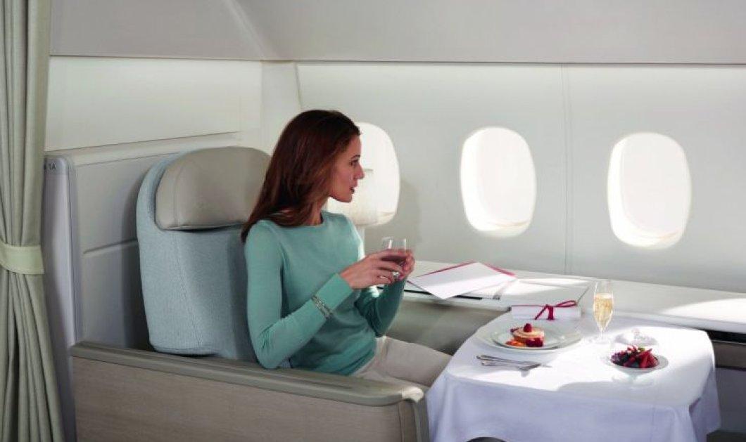 Το πιο χλιδάτο αεροπορικό ταξίδι σε ιπτάμενη σουίτα με εισιτήριο 33.000 δολάρια & προσωπικό μπάτλερ    - Κυρίως Φωτογραφία - Gallery - Video
