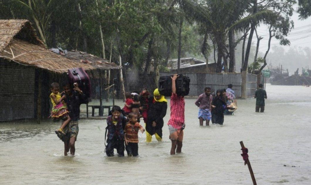 Χάος στο Μπαγκλαντές από τον τυφώνα Ροάνου: Μισό εκατομμύριο άνθρωποι εγκατέλειψαν τις εστίες τους - Τουλάχιστον 23 νεκροί  - Κυρίως Φωτογραφία - Gallery - Video