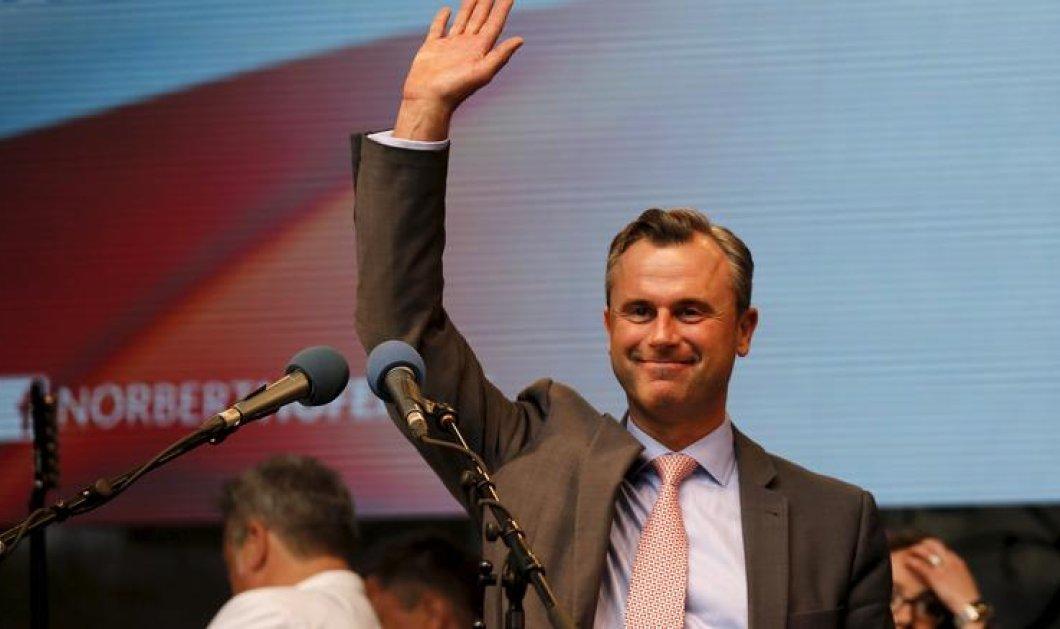 Με αγωνία η Ευρώπη κοιτά απόψε την Αυστρία: Θα γίνει ο ακροδεξιός Ν. Χόφερ νέος Πρόεδρος της χώρας; - Κυρίως Φωτογραφία - Gallery - Video
