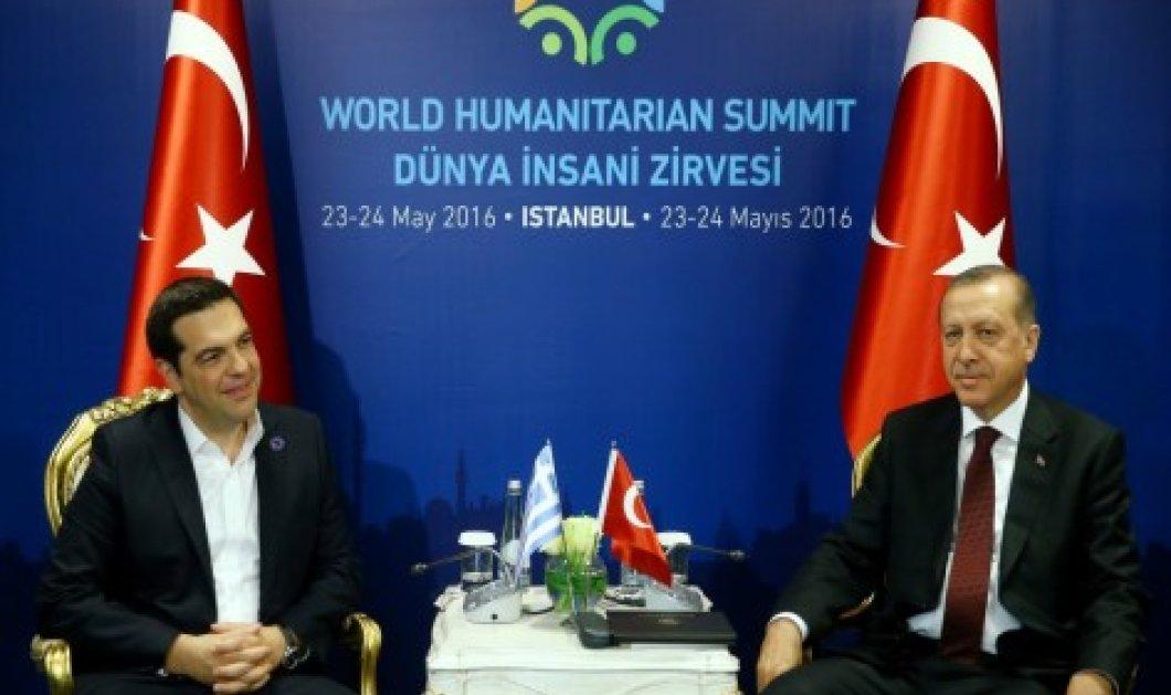 Όλο το παρασκήνιο από τη συνάντηση Τσίπρα - Ερντογάν: Στο επίκεντρο προσφυγικό & η συμφωνία με την ΕΕ  - Κυρίως Φωτογραφία - Gallery - Video